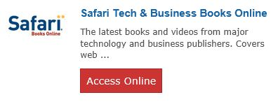 Safari Tech & Business Books Online